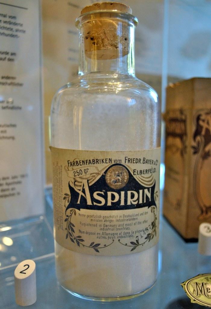 Vintage Aspirin Bottle