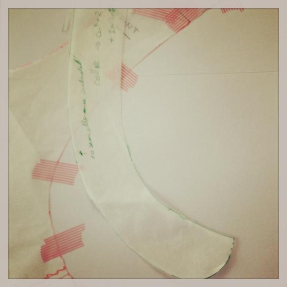 Collar drafting by knitahedron
