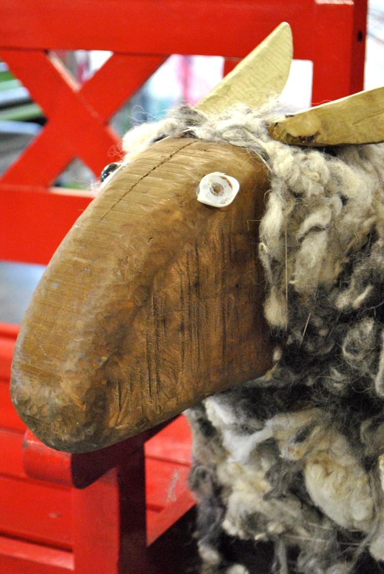 Sheep at Avoca Handweavers