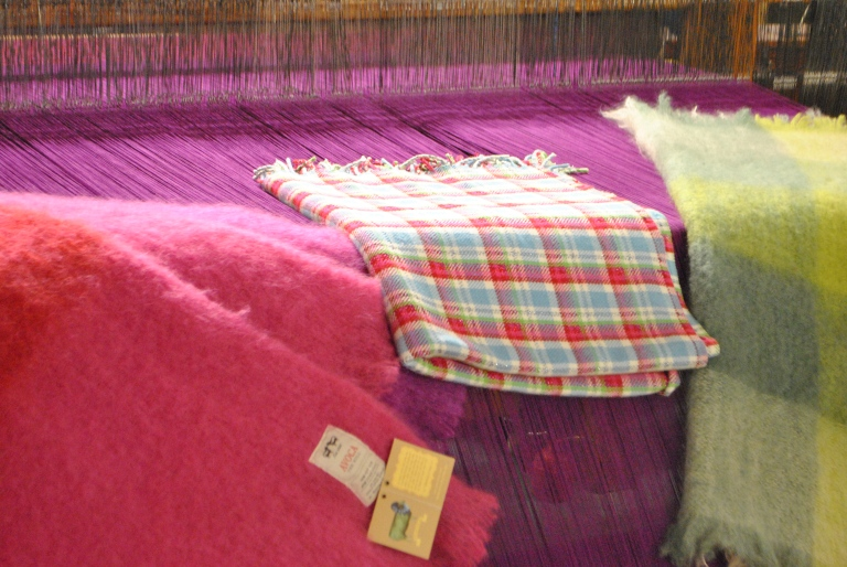 Blankets at Avoca Handweavers by knitahedron