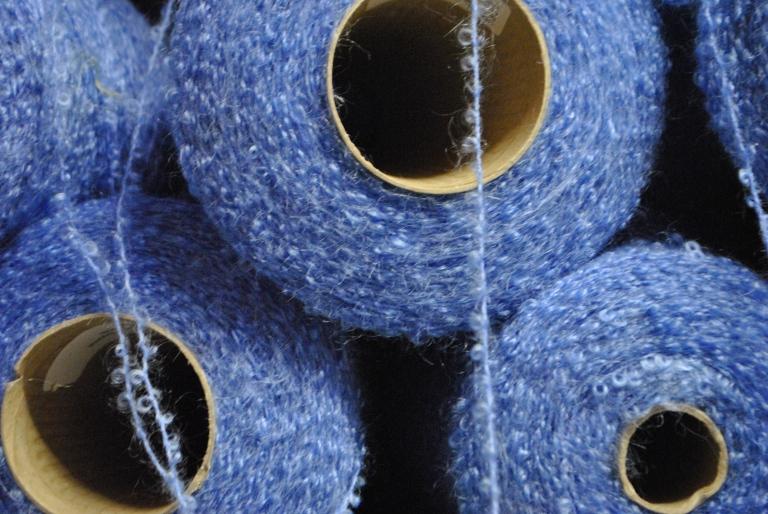 Yarn cones at Avoca Handweavers by knitahedron
