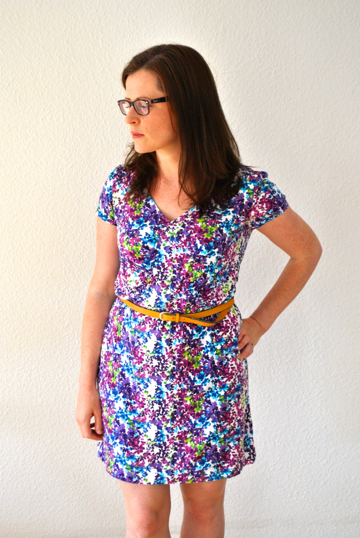 Jersey Burda Dress by knitahedron