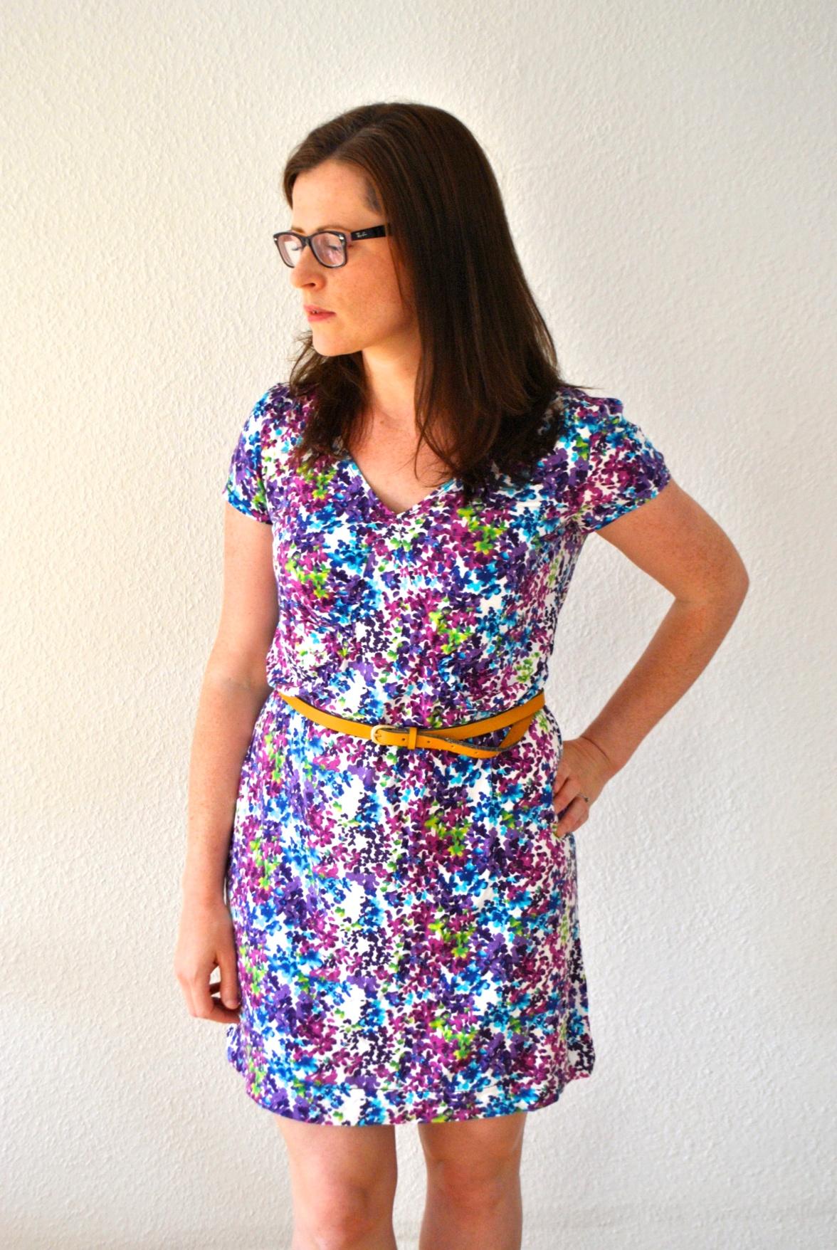 Jersey Burda Dress by knitahedron