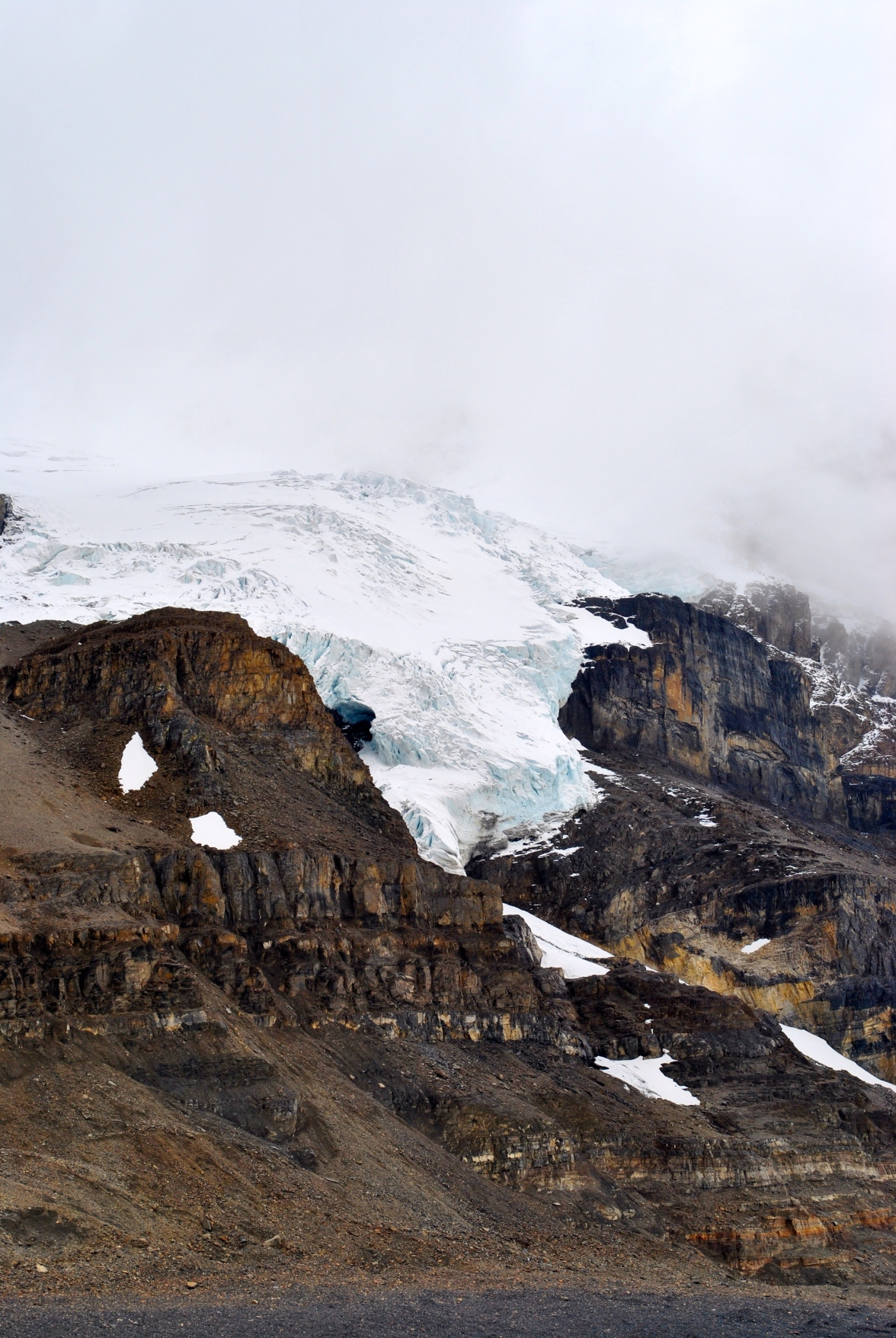 View from Athabasca Glacier by Áine Ryan