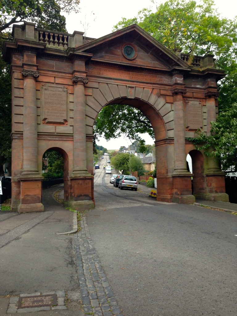 Entrance to the Royal Observatory, Edinburgh by Áine Ryan